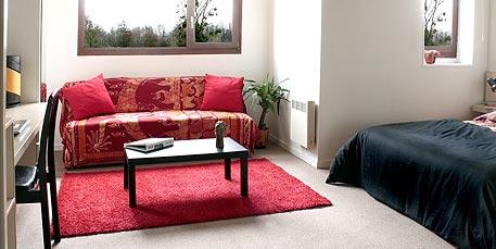 location Appartement meublé avec salon - Location appartement Caen