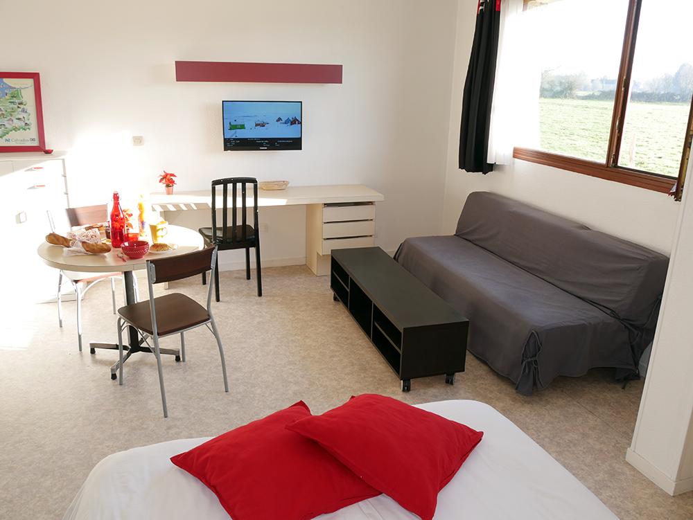 appartement-meublé à -louer-caen-hebergement-apparthotel-pas-cher